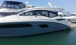 Indulge yourself in luxury! This lightly enjoyed sports yacht is ready for the water. Completely loaded! A must see. Trades considered. Engine(s): Fuel Type: Diesel Engine Type: Inboard Quantity: 2
