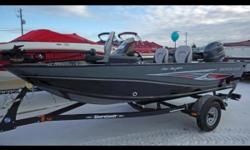 Smoker Craft brings you the budget-friendly side of serious fishing with the 161 Pro Angler. This value-minded boat features an impressive automotive-style console with speed, tach and fuel gauges as well as lighted rocker switches. A 25-gallon aerated