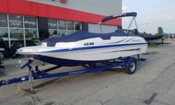 THIS USED BOAT PACKAGE INCLUDES: 2016STARCRAFT LIMITED 2000 I/O, MERCURY 4.3 MPI,  2016 JQ TEX BUNKTRAILER, STEREO, COVER, BIMINI TOP, SWING TONGUE TRAILER, AND STARING BATTERY. CALL MARINE SALES FOR YOUR BEST DEAL (920)788-0220 Whether