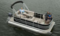 LIKE NEW! 2016 Starcraft Marine EX 18 F Looking for a value priced pontoon boat that will get you to where the fish are in style? You've found it in the EX 18 F from Starcraft. With two bow fishing seats and livewell, you'll be able to fish in comfort,