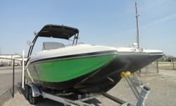 2016 Starcraft SCX231 I/O, All Standard FeaturesBravo III OutdriveFire ExtinguisherGPS/Fish FinderLS Package With Snap In Sea Weave FlooringMood Light UpgradeMooring LinesStainless Steel Prop (upgrade)Tow Package UpgradeTrailable Ratchet CoverSwim