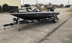 Minn Kota Fortrex 80 lbs 24 V 3 Bank On Board Charger Lowrance Hook 5 @ Bow Lowrance Hook 7 @ Console Sea Star Steering Manual Jack Plate w/ Boarding Ladder Fishing Chair and Butt Seat Aluminum Wheels w/ Matching Spare Trailer Brakes Motor Warranty Until