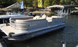 One of Ten Tritoons up for sale from our rental fleet. This one, along with all of the other nine boats, have been gone through and turnkey ready with Mercury 150L 4S outboards. The interior on this one in particular is in amazing condition. Always