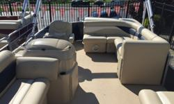 "2016 Sweetwater SW 2086 MOST POPULAR! 2016 Sweetwater 2086. All Vinyl Deck. No Carpet Anywhere. Ski Tow Bar. 25"" Toons. Yamaha 90HP 4stroke. Speedo. Oversized Bimini. Built-In Fuel Tank. Chambered Toons, Sealed & Pressurized. Maint Free Composite Seat"