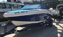 One owner, like new Tahoe 450 TS model by Tracker Marine with Mercury 115HP Fourstroke with warranty till 11/26/2019. Extremely low hours. Bow cover, cockpit cover, engine cover & Bimini top. Garmin EchoMap Chirp 44 CV GPS/Fishfinder. Stereo. Loads of