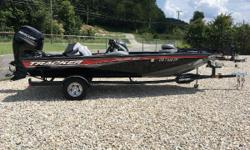 THE GREAT OUTDOORS MARINE - THE FUN STARTS HERE! 2016 TRACKER PRO TEAM 195 TXW - COLOR: BLACK W/ CARPET 2016 MERCURY 150HP 4-STROKE - WARRANTY THRU 08/16/2021 2016 TRAILSTAR SINGLE AXLE TRAILER W/ BRAKES & SPARE TIRE Garmin EchoMap SV on swivel mount @