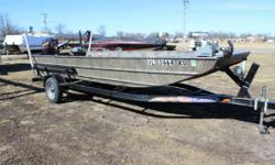 2016 Weldbilt 1852 with a Mercury 60HP and Mid America Trailer For Work Or Play... A Boat For All Needs! WeldBilt Jon Boats and Duck boats are one of the best buys for your money on the market today. They are all welded, no rivets. This 2016 Weldbilt 1852