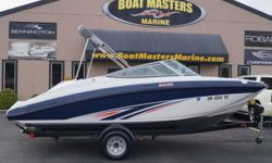 2016 Yamaha Marine SX190 BEST VALUE ON THE WATER. The number one selling runabout in the 19-foot category is packed with family-friendly amenities not found on competing boats. Key features include a roomy interior layout with extra storage, an