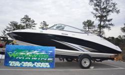 2016 Yamaha Marine SX190 only 30 hours on boat BEST VALUE ON THE WATER. The number one selling runabout in the 19-foot category is packed with family-friendly amenities not found on competing boats. Key features include a roomy interior layout with extra