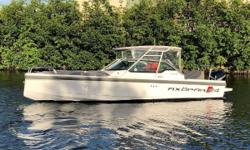 Available in Fort Lauderdale! FULLY LOADED 2017 AXOPAR 24 TT - AVAILABLE NOW! One previous owner, fresh new bottom, and 100 service hours doneat the both the Axopar and Mercury dealer This boat won't last! Finlands Axopar Boats is achieving