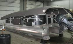 Here is a Great pontoon Equipped with an Easy Cover. This pontoon was used the summer of 2018 only. Features include, Sea Grass flooring, Tilt Steering wheel, Hour Meter, Kicker radio with 4 speakers, MP3 and USB input. Stainless Steel