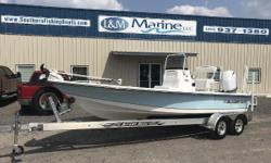 GREAT DEAL! 2017 Blazer 2200 Bay Loaded with options!!  Financing Available! Easy online application process! Apply today!  The Blazer Bay 2200 is the full liner version of the Blazer Bay 2170. It has a huge step-up front casting deck with