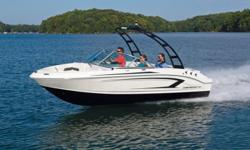 SOLD 2017 Chaparral 19 H20 SPORT Hull color: BLUE Stock number: CHAP33