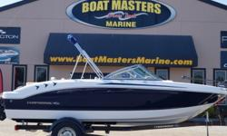 2017 Chaparral 19 H2O Fish & Ski WITH A MERCRUISER 4.3MPI, 180HP ENGINE - TRAILER INCLUDED! Beam: 7 ft. 6 in. Hull color: Blue Stock number: CHAP47