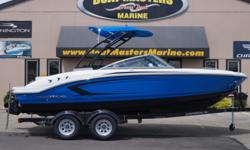 SOLD 2017 Chaparral 21 H20 SPORT With POWDER COATED TOWER and MERCRUISER 200 HP, MPI ENGINE! Hull color: ELECTRIC BLUE Stock number: CHAP31