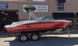 2017 Chaparral 21 H2O 2017 CHAPARRAL 21 H2O SPORT WITH MERCRUISER 4.5 MPI, 200HP ENGINE. TRAILER INCLUDED! Hull color: Fire Red Stock number: CHAP 43