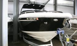 This is a one owner Chaparral 277 SSx, used exclusively on Lake Winnipesaukee. It has been dealer maintained, and has very low hours. The boat is powered by a Volvo Penta V8/EVC 380HP Duo Prop with only 65 hours. Options include a windlass, Vacu Flush