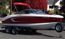 2016 Chaparral 21 H2O Sport OUR 40TH ANNIVERSARY FALL CLEARANCE EVENT IS GOING ON NOW - HUGE SAVINGS! Very rare Chaparral H2O. Great open bow power boat with a GM 4.3 MPI. Volvo Penta outdrive. Features include: ? Sunbrella bimini top, bow cover, and
