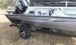 2017 Crestliner VT 18 NO CARPET! READY TO FISH, LIKE NEW! AN ALUMINUM BASS BOAT TO GET YOU WHERE NOTHING ELSE CAN If you want to go where the fish are, go where the other boats arent. Let this true shallow running fishing machine get you there. Whether