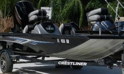 The durable VT 19 makes a day on the water more successful. A huge bow casting platform gives way to tons of storage for your rods and your other gear. The 22-gallon stern livewell will hold all your top catches as you keep casting for a bigger one.