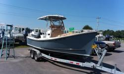 PRICE REDUCED! 2017 Eastern 220 Center Console powered with a Suzuki 175 hp 4 stroke outboard and packaged with a Venture Bunk Trailer.The ex-owner is an avid fisherman and he did use this boat every day while he owned it. The engine has approx 600 hours