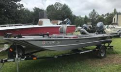 GREAT CONDITION! 2017 G3 Eagle 170 PFX Lightly used G3 Eagle 170PFX with Yamaha F50LB with less than 15 hours. The 170 PFX blends convenient stick steering, an open floor plan for ease of movement, comfortable seating and plenty of lockable storage into