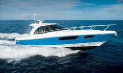 This one owner Intrepid 410 Evolution 2017 has only 60 original hours and remaining warranty through 1/2022. She's been meticulously maintained and is currently kept out of the water less than 10 minutes from the Fort Lauderdale Airport. Key