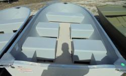 """Two to choose from. Lowe V1467WT 20"""" transomWhite with Gray interior. Scratch and Dent price $2,249.00. BOAT SOLD AS IS. NO WARRANTY. Optional Karavan trailer with 12"""" tires and trailer jack $799.00"""