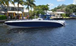 Major price reduction owner is moving into a new MY This beautiful 2017 Midnight Express 43 Open with quad Mercury 400Rs is the best deal on the market. This high- performance center console shows like new and is fully loaded with upgrades. Owner invested