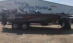 2017 Nitro ZV18 2017 Mercury 200XL Verado L4 (warranty thru May 2020 / 5 hours) 2017 Mercury 9.9 ELPT Command Thrust FourStroke 2017 Trailstar tandem axle bunk trailer w/ trailer ladder, swing tongue, spare tireMinnkota Terrova 112 IPilotMinnkota 460PC