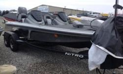 INCLUDES A MINN KOTA FORTREX 80LB THRUST 24 VOLTS TROLLING MOTOR, A HOT FOOT, AND PRO TRIM ON DASH!!  Nominal Length: 19.4' Length Overall: 19.3' Beam: 7 ft. 8 in.
