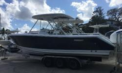 Major Price Reduction! Bring your offers! Owner is downsizing, this is your opportunity to buy a like new S 280 with full Pursuit and Yamaha extended warranties! Loaded with options, and only a few hours, this is one of the prettiest and best