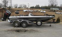 Here is a great opportunity to get into a tournament ready, dual console bass boat, with warranty until 2027! Comes equipped with a Minn Kota Maxxum trolling motor, and Lowrance electronics. Less than 30 hours of run time. Nominal Length: 18'