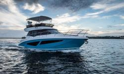 Certified Trade w/ Warranty - Boasting a spacious flybridge, open air atrium, and the most innovative luxury boating excellence, the 42 Fly is truly in a class of its own. Step aboard and experience the ultimate memory making machine! Twin Volvo IPS 600