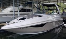 2017 Regal 28 Express 2017 Regal 28 Express Cruiser. Purchased new this past April. Volvo Gen5 350HP Duo Prop with 90 hours. Generator. Bow thruster. Windlass anchor. Power folding arch. Cockpit lights. Underwater lights. Arch lights. Teak cockpit table.