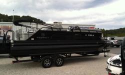 The Great Outdoors Marine - The Fun Starts Here!! 2017 REGENCY 220 LE3 SPORT - BLACK/BLACK/GRAY 2017 MERCURY 250HP VERADO 4-STROKE OUTBOARD 2017 TRAILSTAR TANDEM AXLE TRAILER W/ BRAKES Triple-toon package - (3) Black powder-coated pontoons w/ lifting