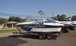2017 Rinker MTX20 BowriderMercruiser 4.5 MPI ( 250)hp) alpha drive5 Blade High Five stainless prop ( New)Cock pit and Bow CoverFlip up Bolster seat ( helm)Extreme Package - Folding tower w/ Board rack, Black Bimini, Mirror, Tower speakers, Bow scuff