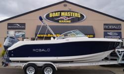 2017 Robalo R207 PACKAGED WITH A YAMAHA 150HP, 4-STROKE, EFI ENGINE. ALUMINUM TANDEM TRAILER INCLUDED! NO MATTER WHEN YOU'RE GOOD TO GO The amazing R207 invites you to double your pleasure and double your fun on boat that showcases everything that's right