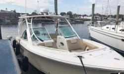 2017 Sailfish 275 DC Dual Console powered with Twin Mercury 150 Four-Strokes with under 125 hours.  Bone white hull with white anti-fouling bottom paint.  Boat is loaded with options and in very good condition.  Dealer owned and Coming in