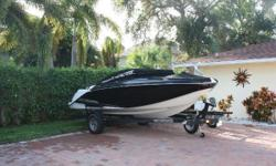 2017 19 Platinum Jet Scarab in great condition!  250 Rotax Engine Scarab custom trailer Bimini Top Bucket Bolsters, flip-up Cockpit Carpet Savannah Sand interior Cockpit reed mat Cooler Ski Tow Cleats, pull up Stereo system ONLY 45 HOURS!!!