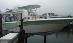 USED 2017 Sea Fox 266 Commander. Twin 150 Yamahas, 70Hrs. Windlass anchor system, Ultima hard top: recessed LED spreader lights (2), molded-in electronics box, Kicker stereo w/MP3 adaptor & 8 Kicker speakers (4 in hard top & 4 in deck), LED lights - white