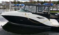 GORGEOUS 2017 Sea Ray 260 Sundancer with only 38 hours! This boat is powered by a MerCruiser 6.2L MPI Bravo 3 Drive. Features include: Camper Canvas, Flat Screen TV, Cockpit Cover, Vacu-Flush Head, Snap-In Carpet, Graywater Holding Tank,LED