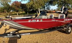 2017 Tracker Pro 170 with optional 50hp. Mercury 4 stroke upgrade, Trailstar trailer, 2 Lowrance Hook X3 fish finders, stainless steel prop, MinnKota trolling motor, just 64hrs.EXCELLENT CONDITION! SAVE YOUR MONEY! PRICED THOUSANDS LESS THAN A SIMILARLY