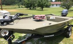 One Owner, 2015 Yamaha 25 4-Stroke. Like NEW!! Nominal Length: 14' Length Overall: 14' Beam: 48 ft. 0 in.