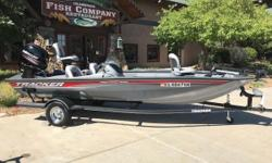 2017 Tracker Pro Team 195TXW with 150HP Mercury motor and trailer Nominal Length: 19' Length Overall: 1' Beam: 8 ft. 2 in. Stock number: 1006259