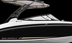 2016 Yamaha E Series 242 LIMITED S Empowering Technology Enviable Performance Elegant Design Yamahas all new flagship 242 Delivers and Unmatched Ownership Experience AM FM Fish Finder Fresh Water GPS 13500 Engine Hours 180 HP Fish Box Located in Oakville