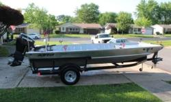 2016 Alweld 1756LA Priced to sell fast Extras and custom work Clean Title no liens Paperwork is all present and accounted for includes transferable warranty on the motor and owner manuals Boat is always garaged Used very little estimated to be less than