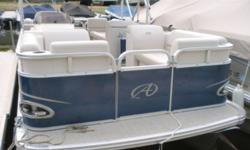 2018 Avalon Venture Quad Lounge 18' This a boat that was in our rental fleet this summer. If you are looking for a well equipped boat but not to large this could be the boat for you. The options tha tare included with this boat are: mooring cover, USB w/