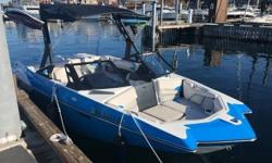 Here is an awesome 2018 Axis A20 by Malibu for sale!I have had it for less than a year LOVED IT and now it can be yours!It is well equipped with:- 409 monsoon engine.- 1000 lbs hard tank ballast. 1 center tank 2 rear tanks (sub floor).- Stainless steal