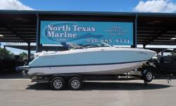SAVE OVER 10,000.00 2018 Four Winns H260 Includes:300 HP VOLVO/PENTA W/ DUO PROP, WIND-SCREEN, FULL CAMPER ENCLOSURE, STERN SPEAKERS AND STEREO CONTROL, CLOSED LOOP COOLING SYSTEM, REFRIGERATOR, HEAD COMPARTMENT ,COCKPIT TABLE, JL BLUE-TOOTH AUDIO,